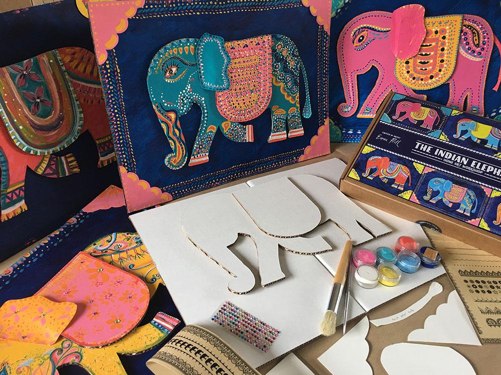 Indian Elephant Workshop Kit